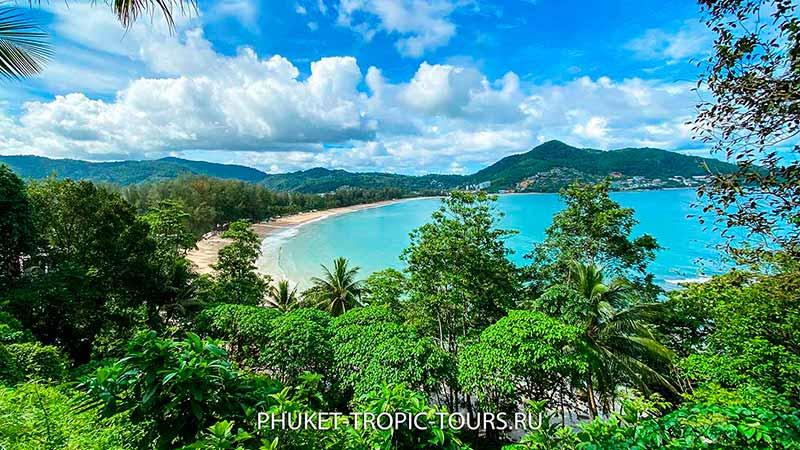 Пляж Камала на Пхукете - обзорная площадка, фото 16