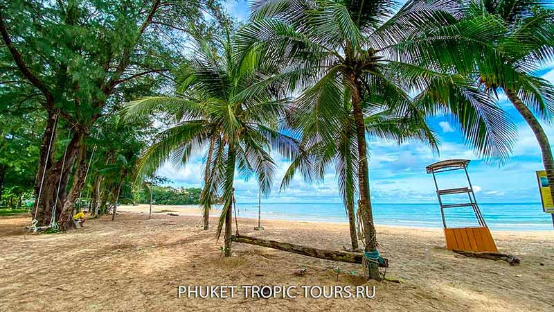 Пляж Камала на Пхукете - качеля фото 9