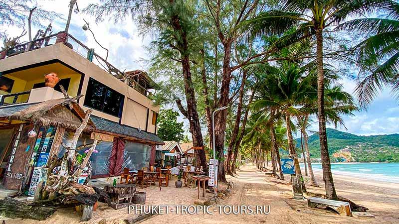 Пляж Камала на Пхукете - дорога вдоль моря фото 10