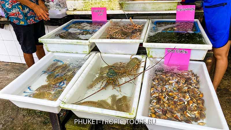 Пляж Раваи - рыбный рынок фото 8
