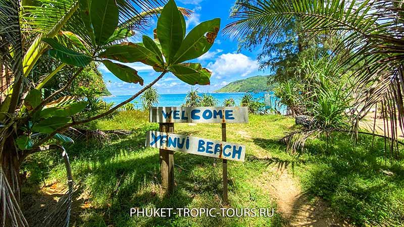 Пляж Януи на Пхукете - фото 9
