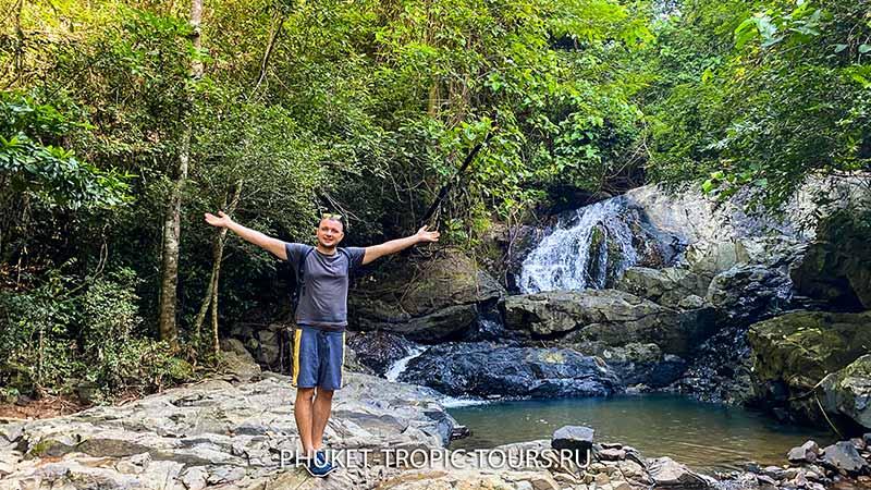 Водопад Ао Йон (Панва) на Пхукете - фото 12