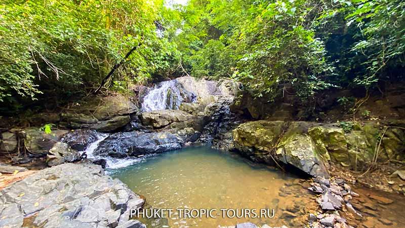 Водопад Ао Йон (Панва) на Пхукете - фото 1