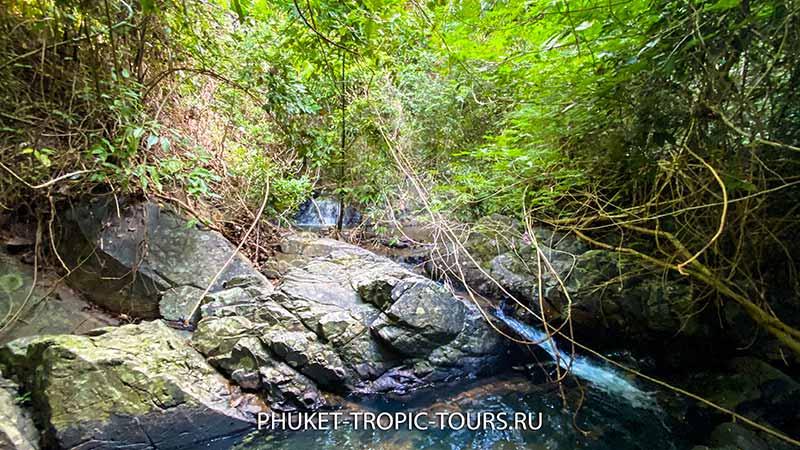 Водопад Ао Йон (Панва) на Пхукете - фото 14