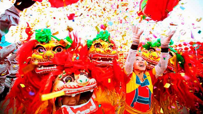 Китайский новый год на Пхукете в январе