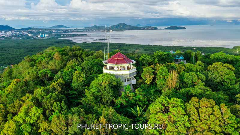Обзорная Площадка на мысе Панва (Khao Kad Tower Viewpoint)