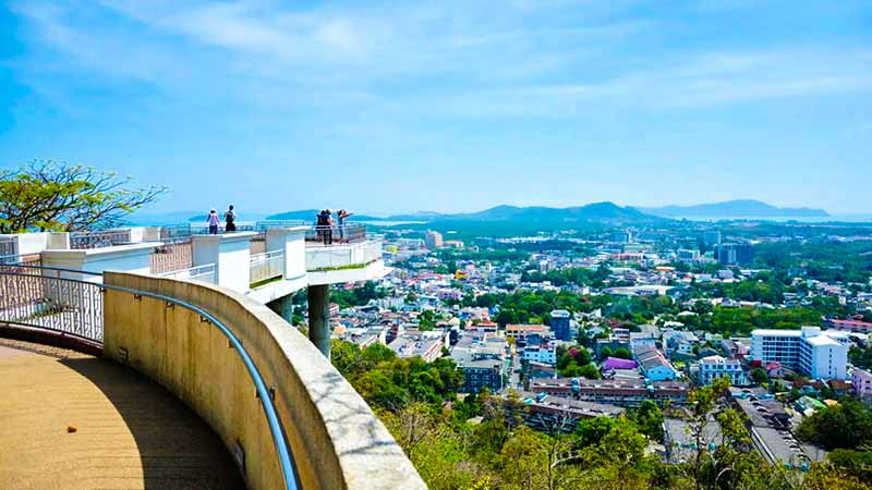 Смотровая Ранг Хил (Rang Hill) в Пхукет Тауне
