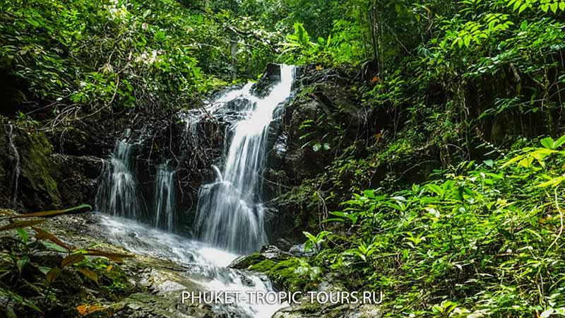 Водопад Тонсай на Пхукете (Tonsai waterfall)